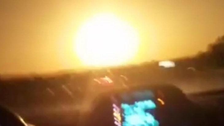 'Göktaşı' iddiasına açıklama: Bu tam anlamıyla bir meteor olayıdır