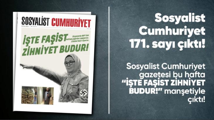 Sosyalist Cumhuriyet e-gazete 171. sayı