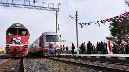 Cihatçılar tarafından tahrip edilmişti: Şam-Halep arasında ilk tren yolculuğu iki ay sonra yapılacak