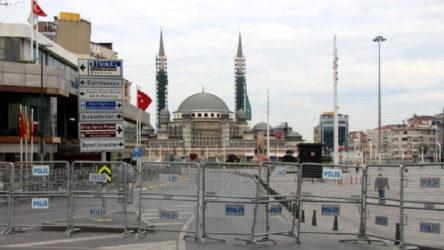 Taksim'e tüm çıkışlar kapatıldı