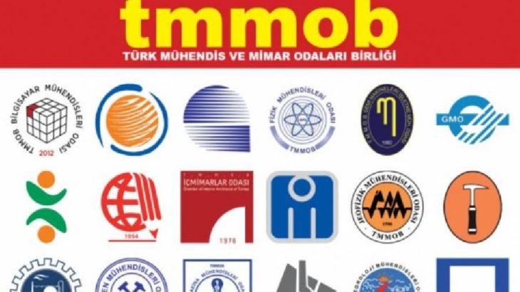 TMMOB'dan milletvekillerine mektup: Kaybeden ülkemiz olacak