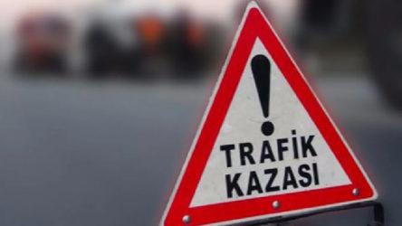 Konya Derbent'te hafif ticari araç devrildi, 1 kişi hayatını kaybetti