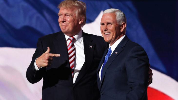 Trump, yardımcısı Pence'i yalanladı