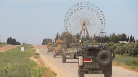 Türkiye ve Rusya'dan Haseke'de yılın ilk ortak devriyesi