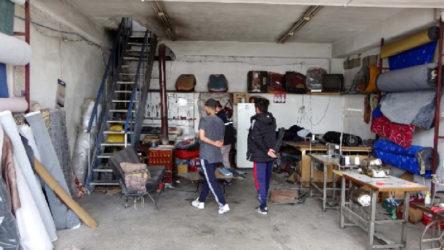 Van Erciş'te 5 iş yerini soyan hırsız, 6'ncısında uyuyakalınca yakalandı