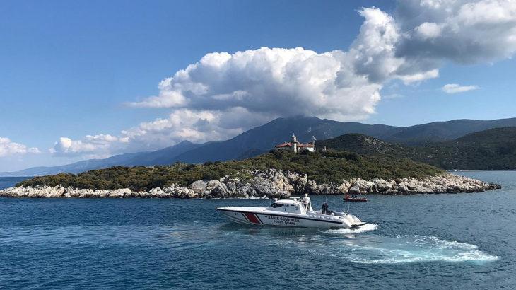 Yunan sahil güvenliğinde Bodrum açıklarında 2 kez taciz atışı