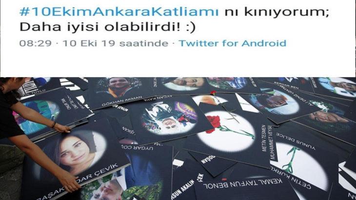 10 Ekim Ankara Katliamı'nı öven kişi 'IŞİD propagandası'yla yargılanacak