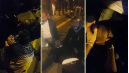 AKP Genel Merkezi önünde '15 Temmuz gazisi' isyanı