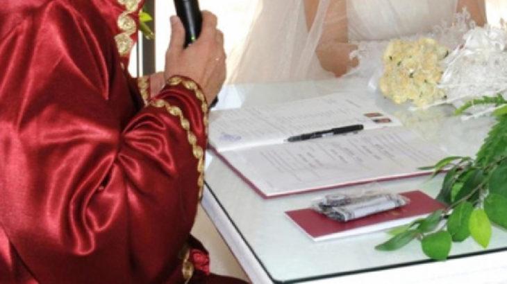 Bakanlıktan nikah merasimi genelgesi