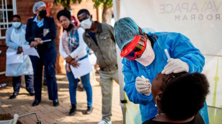 Afrika'da 11 bin 302 yeni vaka