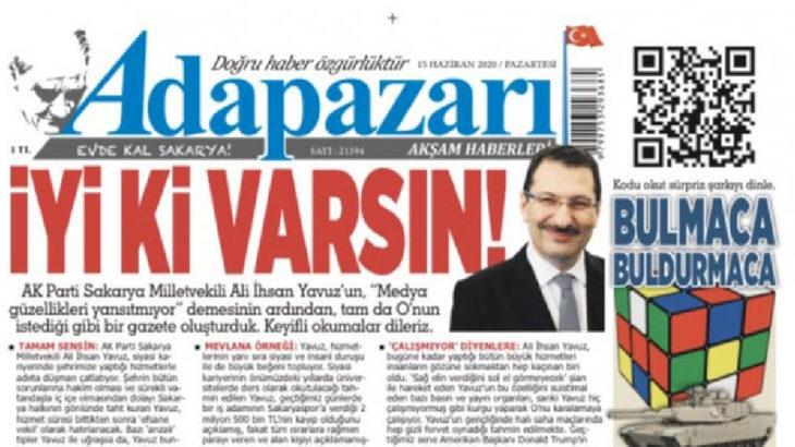 AKP'li Ali İhsan Yavuz'u hicveden yerel gazete yöneticileri ifadeye çağrıldı