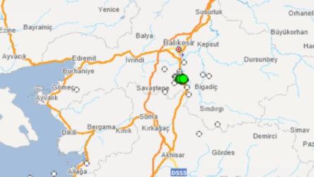 Balıkesir'de 3.9'luk deprem
