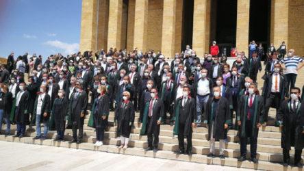 Direniş kazandı: Baro başkanları Anıtkabir'de