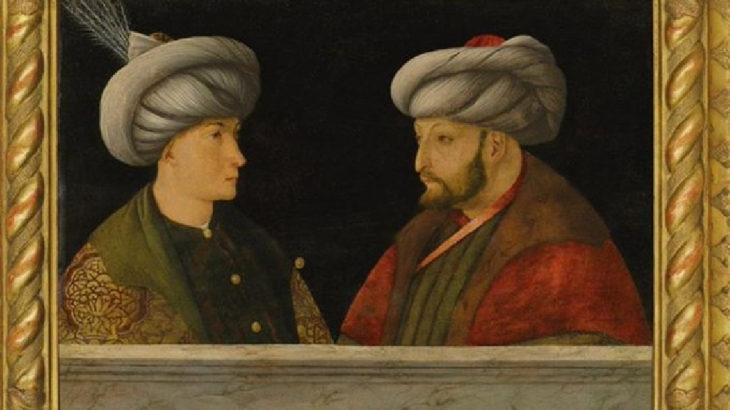 Peki ama Fatih'in portresi neden Londra'da?