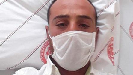 Sivas'ta KKKA tedavisi gören 31 yaşındaki bir kişi hayatını kaybetti