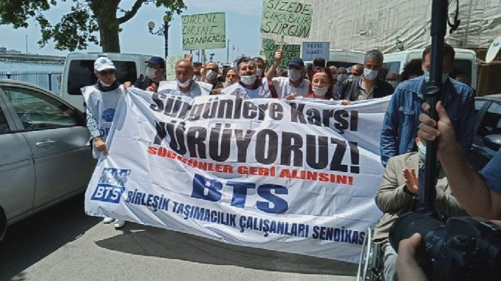 BTS üyeleri sürgüne karşı Ankara'ya yürüyor
