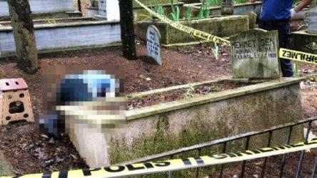 Bursa'da bir doktor babasının mezarı başında intihar etti