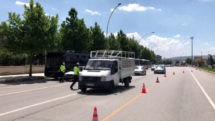 Çorum'da dronlu trafik denetimi: 7 sürücüye 'gürültü kirliliği' cezası yazıldı