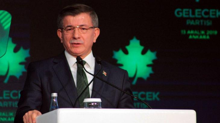 Davutoğlu: Cumhurbaşkanı ve ortaklarının Türkiye'sinde akla, ahlaka ve vicdana yer yoktur