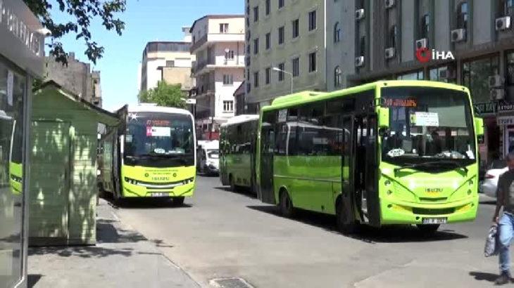 Diyarbakır'da maskesiz sokağa çıkmak ve toplu ulaşımda ayakta yolcu yasaklandı