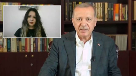 Öğrenciler Erdoğan'a 'Oy moy yok size' deyince yayın yorumlara kapatıldı