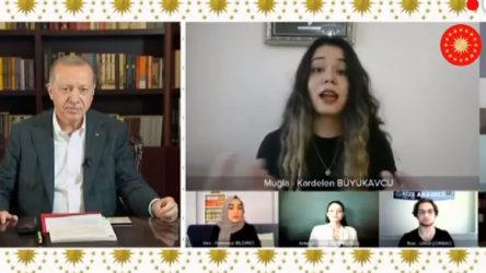 Erdoğan gençlerle: İşsizlik çok ciddi sıkıntı, geleceğinizi özel sektörde arayın