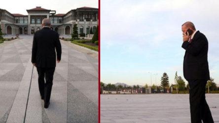 Saray fotoğraflarına AKP açıklaması: Herkes hava alacak yer ararken o yine mesaide