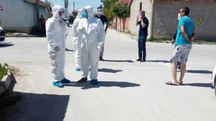 Eskişehir'de bir sokak karantinaya alındı: Doğum günü partisiyle yayıldı