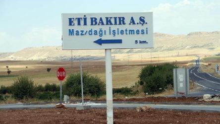 Eti Bakır'ın şantiyesinde çalışan 40 işçi Kovid-19'a yakalandı