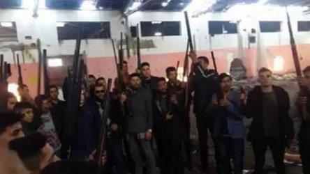 VİDEO | Skandal görüntüler: Pompalı tüfeklerle video çekip paylaştılar