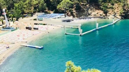 Fethiye'ye haremlik-selamlık plaj!