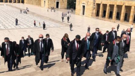 Baro başkanları ablukada, Metin Feyzioğlu Anıtkabir yolunda
