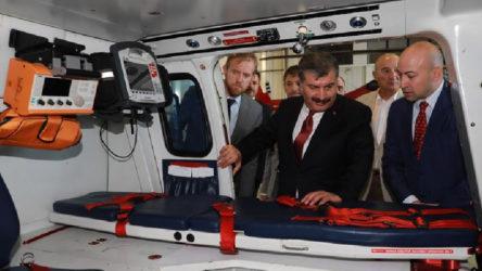 Ambulans uçağa da her gün uçuş garantisi!