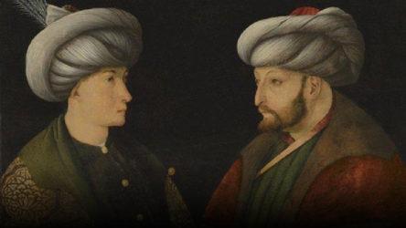 Fatih Sultan Mehmet'in portresini İBB satın aldı