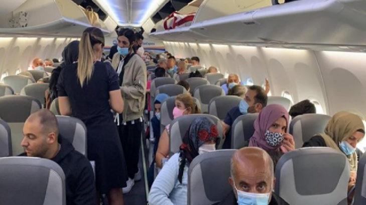 'Nefes alamıyorum' diye bağırdı, uçuş iptal edildi