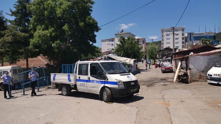 Gebze'de bir sokak karantina altına alındı