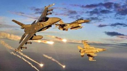 TSK Kuzey Irak'a hava operasyonu başlattı