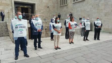 HDP RTÜK ve yargıya gidecek