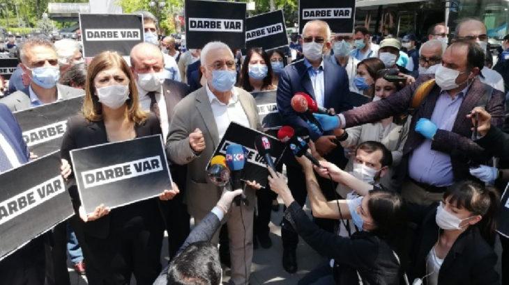 HDP'den Ankara ve Diyarbakır'da basın açıklaması: Darbeci AKP