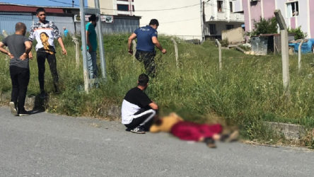Arnavutköy'de kadın cinayeti