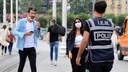 İçişleri Bakanlığı: Maske takmadığı için 7 bin 17 kişiye para cezası kesildi