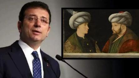 İmamoğlu'na bir 'portre' desteği de eski AKP'li Bakan'dan geldi