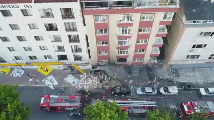 İstanbul'da tekstil atölyesinde patlama!