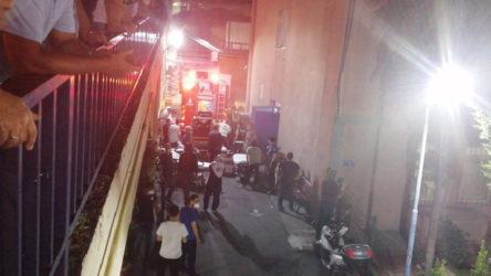 İstanbul Eğitim ve Araştırma Hastanesi'nde yangın