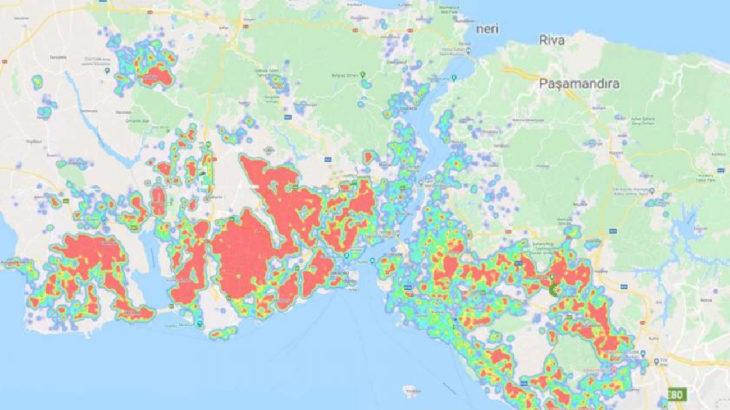 İstanbul'da 5 ilçe alarm veriyor: 'Kırmızı yoğunluk' seviyesinde
