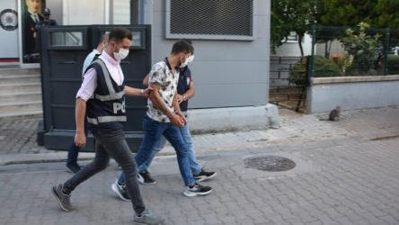 İzmir'de sokakta kız arkadaşını darp eden şüpheli serbest bırakıldı