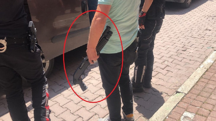 Bursa'da 18 yaşındaki öğrenci kursa pompalı tüfekle geldi, tavana ateş etti
