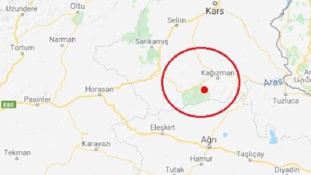 Kars Kağızman'da 4.1 büyüklüğünde deprem