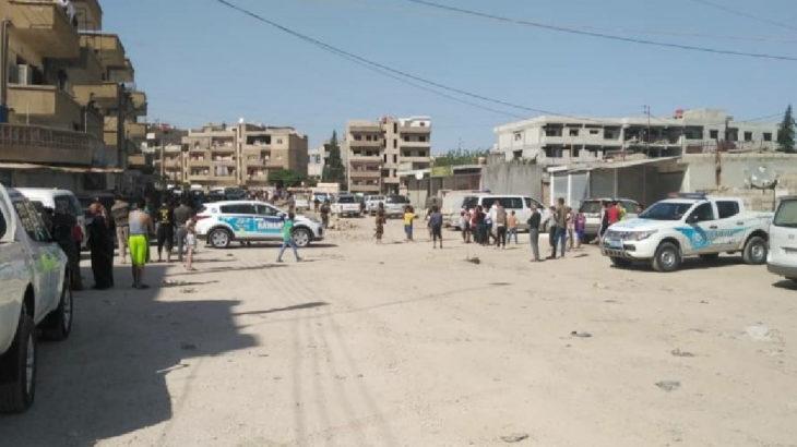 Kamışlı'da intihar saldırısı