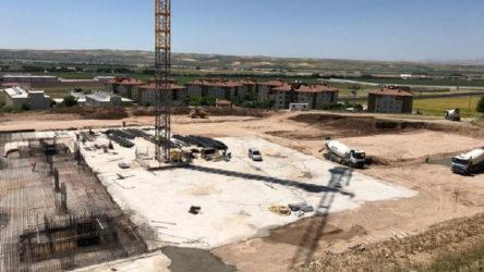 Kamu yararına aykırılık kararına rağmen külliye inşaatı devam ediyor